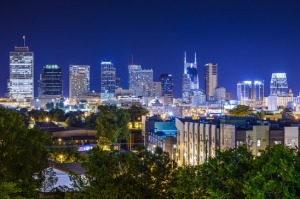 Nashville, Tennessee Skyline